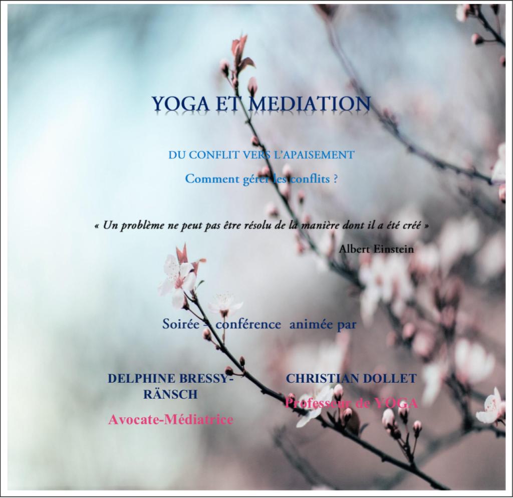 yoga et médiation